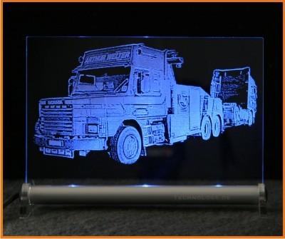 Scania LKW Abschlepper LED Leuchtschild