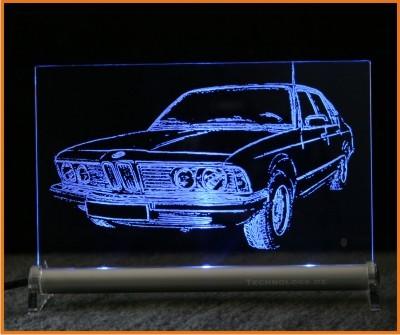 BMW 7 E23 LED Leuchtschild