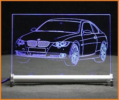 BMW 3 E92 335 Coupe LED Leuchtschild