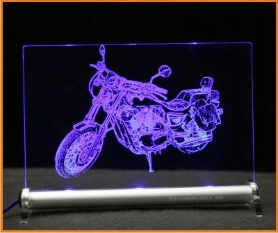 Kawasaki VN 1500 LED Leuchtschild