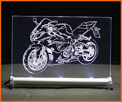 BMW S 1000 RR LED Leuchtschild
