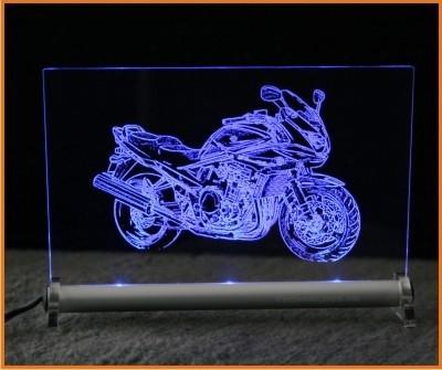 Suzuki Bandit S LED Leuchtschild