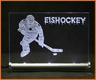 Eishockey LED Leuchtschild
