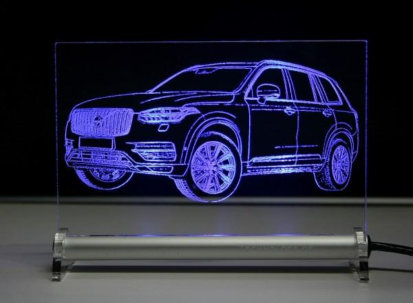 Volvo XC90 ab 2015 LED Leuchtschild