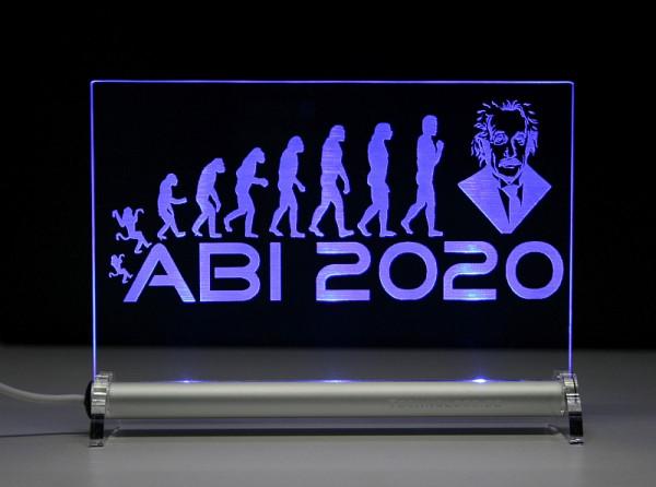 ABI 2020 Evolution Abitur LED Leuchtschild
