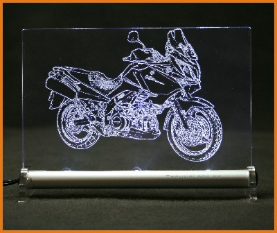 Suzuki Vstrom LED Leuchtschild
