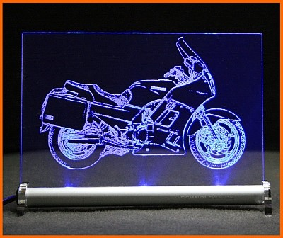 Kawasaki GTR 1000 LED Leuchtschild