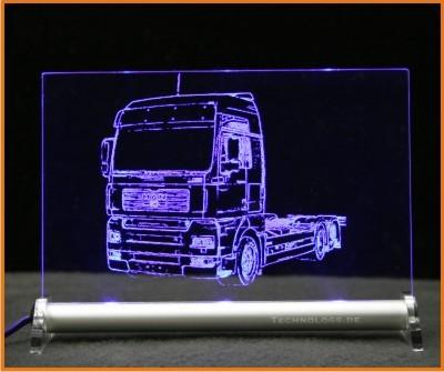 MAN TGA LED Leuchtschild