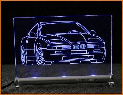 BMW 850 LED Leuchtschild