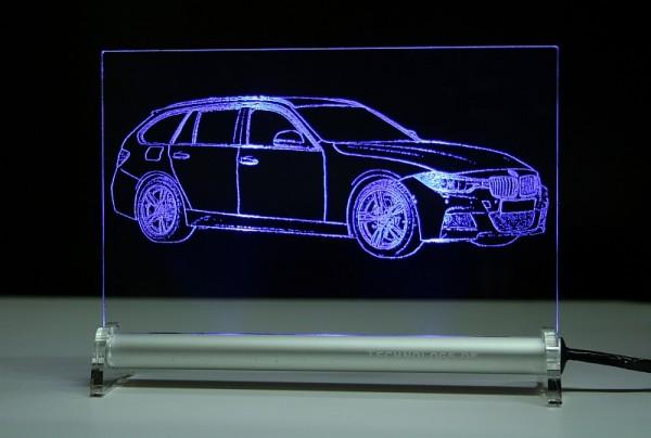 BMW 3 F31 Touring LED Leuchtschild