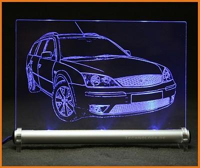 Ford Mondeo ST220 Turnier LED Leuchtschild