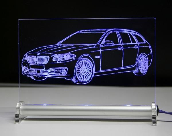 BMW 5 F11 Touring LED Leuchtschild