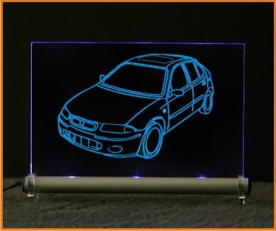 Rover 200 LED Leuchtschild