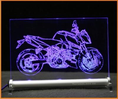 KTM Duke 990 LED Leuchtschild