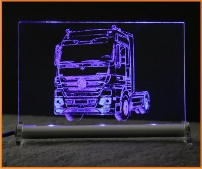 Mercedes Actros LED Leuchtschild