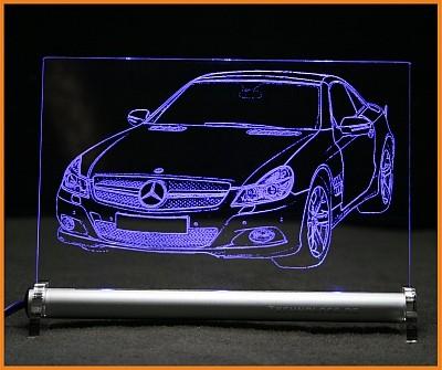 Mercedes SL R230 LED Leuchtschild