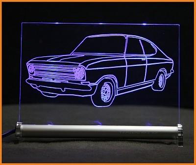 Opel Kadett B Coupe LED Leuchtschild