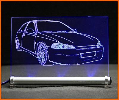 Honda Civic EG 3/4/5/6 LED Leuchtschild