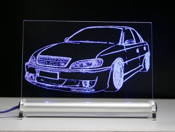 Opel Omega B LED Leuchtschild