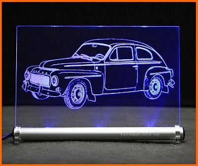 Volvo PV544 LED Leuchtschild