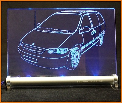 Chrysler Voyager III GS LED Leuchtschild