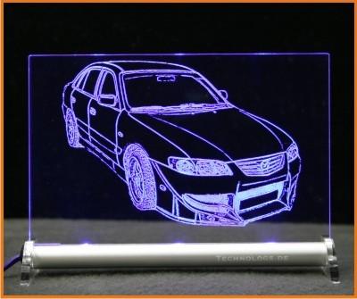 Mazda 626 LED Leuchtschild