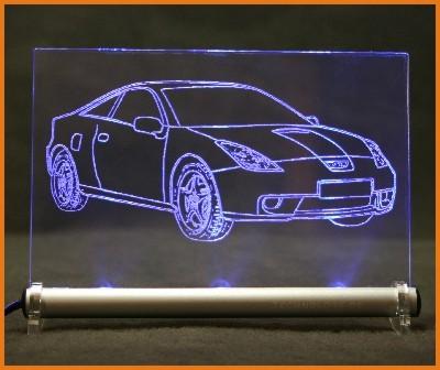 Toyota Celica T23 LED Leuchtschild