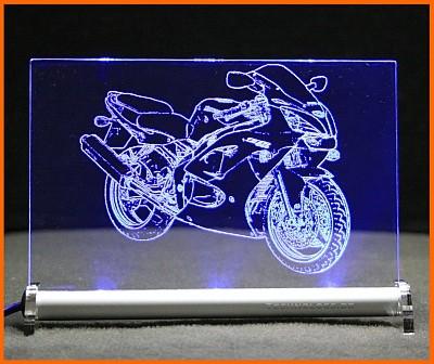 Kawasaki ZZR 600 LED Leuchtschild