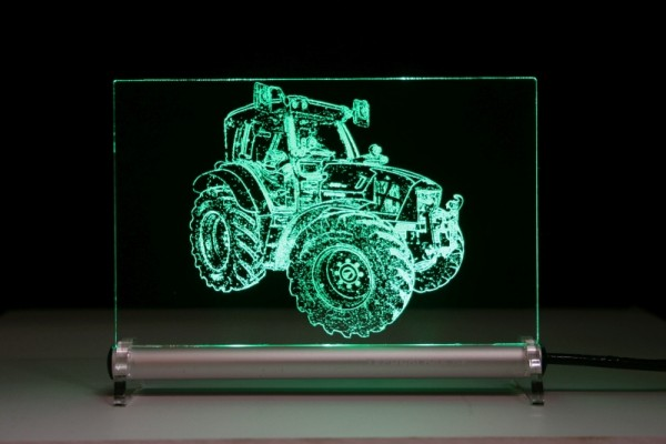 Deutz Fahr 5130 ttv Traktor LED Leuchtschild