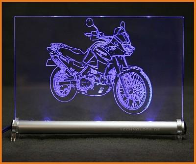 Kawasaki KLE 500 LED Leuchtschild