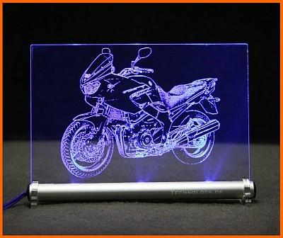 Yamaha TDM 900 LED Leuchtschild