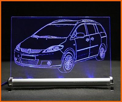 Mazda 5 LED Leuchtschild