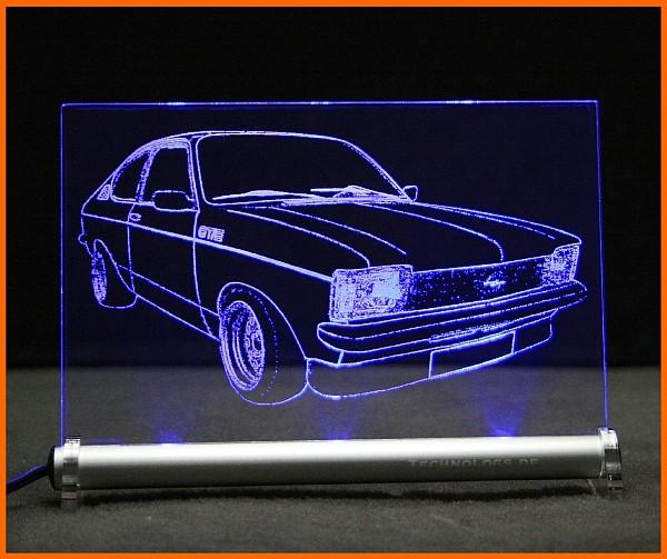 Opel Kadett C LED Leuchtschild