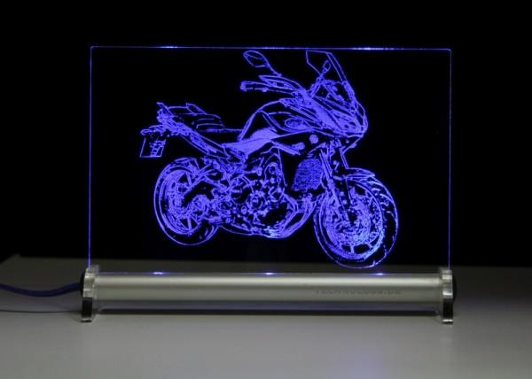 Yamaha MT 09 Tracer 2015 LED Leuchtschild