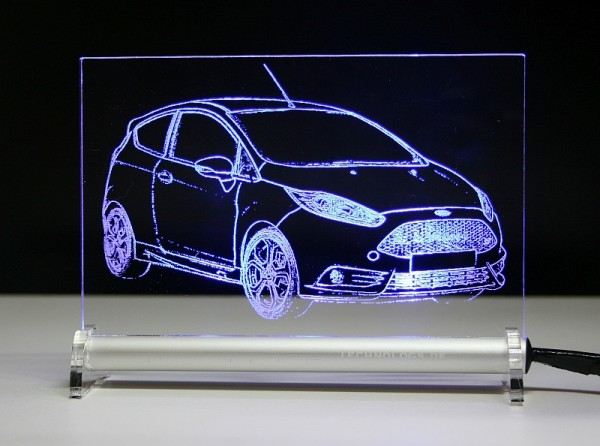 Ford Fiesta ST JA8 2015 LED Leuchtschild