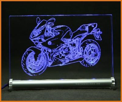BMW HP2 Sport LED Leuchtschild