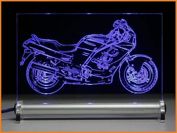 Honda CBR 1000 F LED Leuchtschild