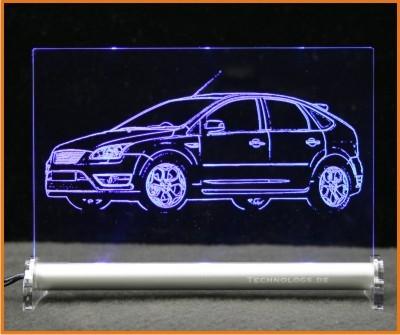 Ford Focus ST 4-t LED Leuchtschild