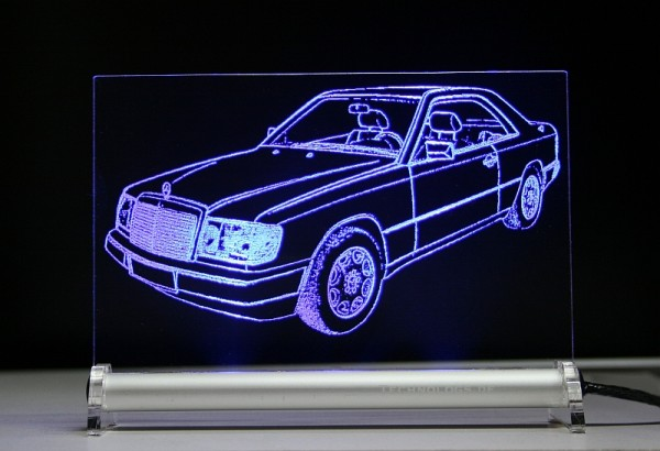 Mercedes W124 (C124) Coupe CE 24 LED Leuchtschild