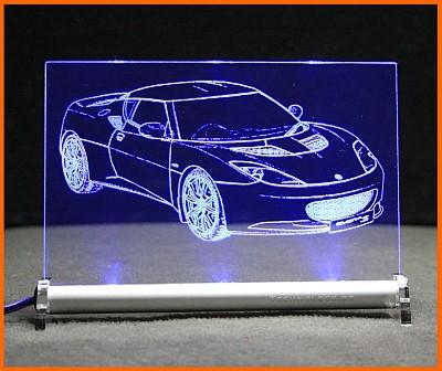 Lotus Evora S LED Leuchtschild