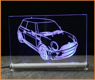 Mini One LED Leuchtschild