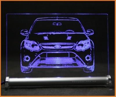 Ford Focus RS LED Leuchtschild