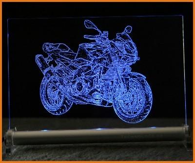 Aprilia Tuono LED Leuchtschild