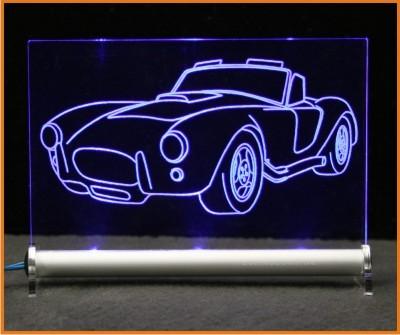 Shelby Cobra - LED Leuchtschild