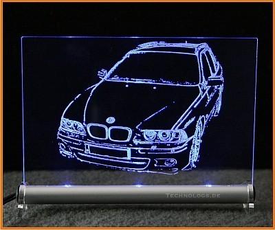 BMW 5 E39 Touring LED Leuchtschild