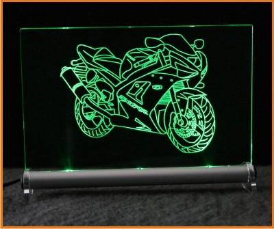 Kawasaki ZX 6 RR LED Leuchtschild