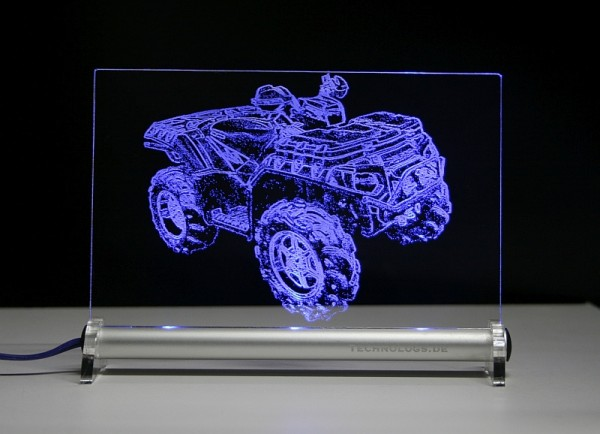 ATV Polaris Sportsman 850XP LED Leuchtschild