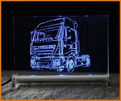 Iveco Stralis Zugmaschine LED Leuchtschild