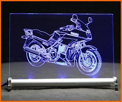 Yamaha FJ 1200 LED Leuchtschild