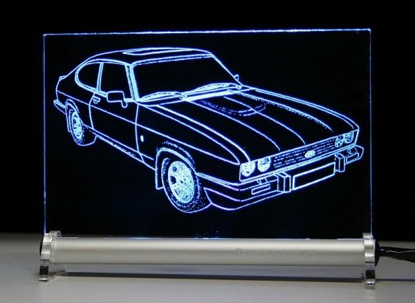 Ford Capri LED Leuchtschild